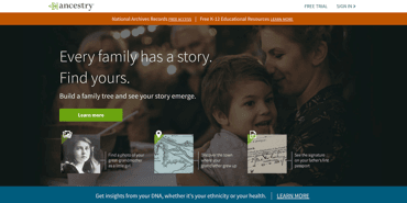 Ancestry DNA testing kits